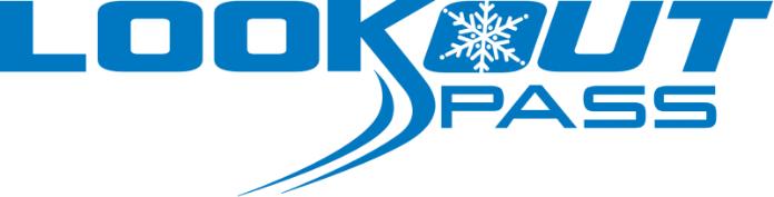 Lookout Pass logo.