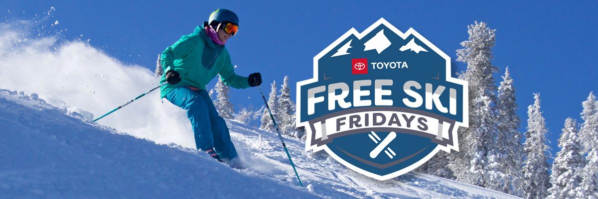 Toyota Free Ski Friday – Mar. 5 @ Silver Mountain